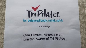 One private lesson at TriPilates